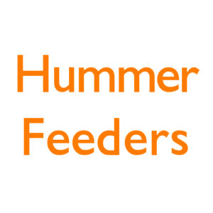 Hummer Feeders