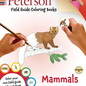 Peterson Field Guide Coloring Books – Mammals