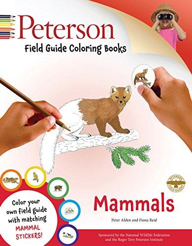 Peterson Field Guide Coloring Books – Mammals