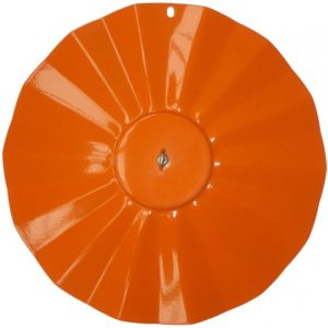 Orange Metal Rainguard