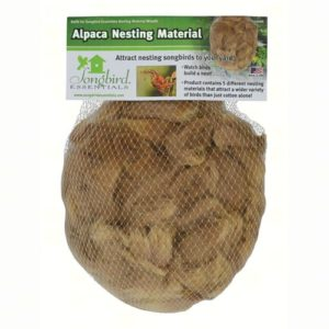 Alpaca Wool Nesting Material