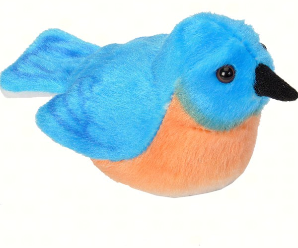 Wild Republic Plush Eastern Bluebird