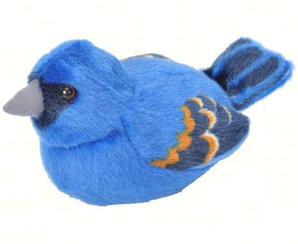 Wild Republic Plush Blue Grosbeak