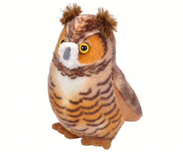 Wild Republic Plush Great Horned Owl