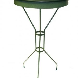 "Erva 30"" Standing Bird Bath - Green 17"" Tray"