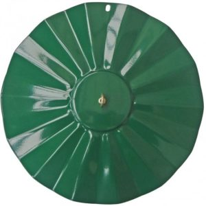 Green Metal Rainguard