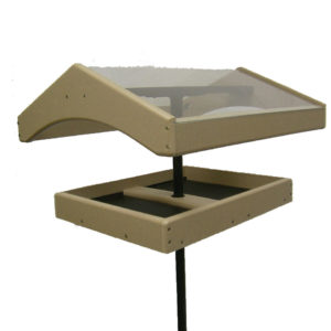 Bird's Choice Recycled Pole Topper