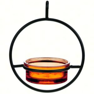 Orange Sphere Hanger Feeder