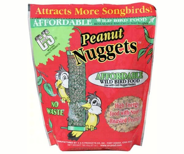 C&S Peanut Suet Nuggets