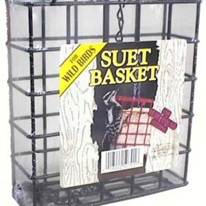 Small Wire Hanging Suet Basket