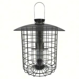 Sunflower Domed Caged Feeder