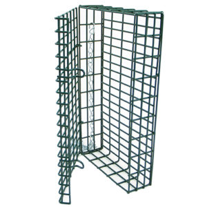 Suet Feeder Green Double Cage