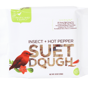 12 x Pacific Bird Insect + Hot Pepper Suet
