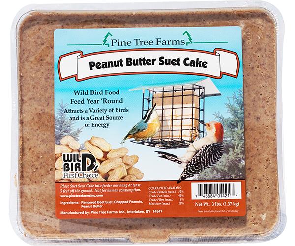 Peanut Butter Suet 3lb.