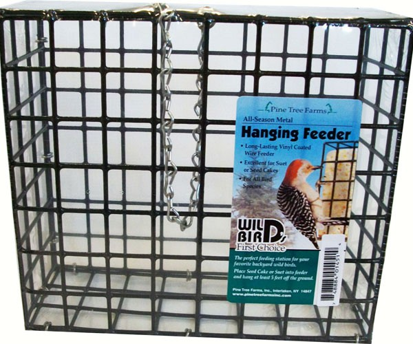 Wire Cage Feeder for Large Cakes