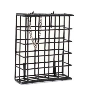 Black Single Suet Basket