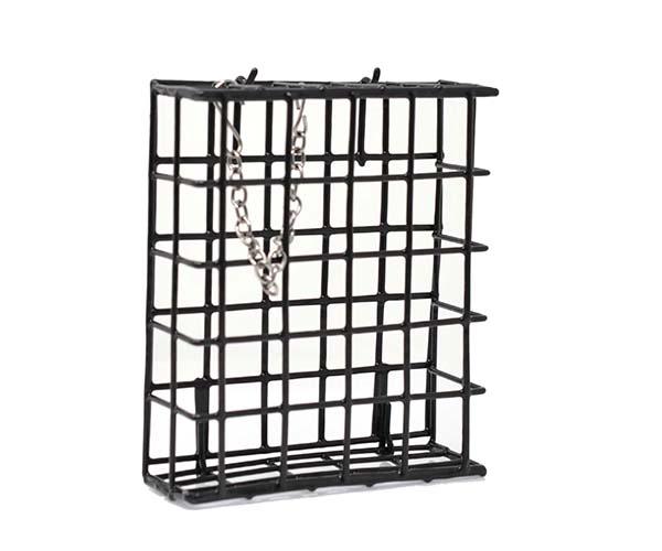 Black Single Suet Basket