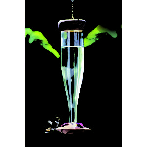 Crystal Hummingbird Lantern Feeder