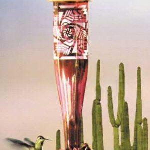Southwest Ruby Hummingbird Lantern