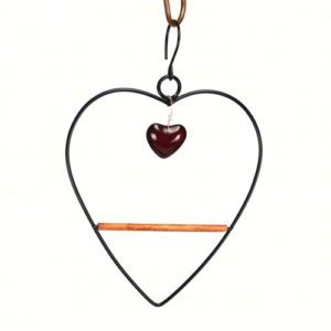Tweet Heart Birdy Swing - black