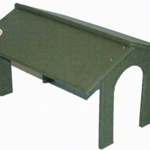 Recycled Platform Feeder Roof only - Hunter Green