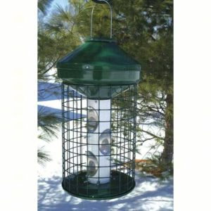 Hanging Cedar Multi-Seed Feeder