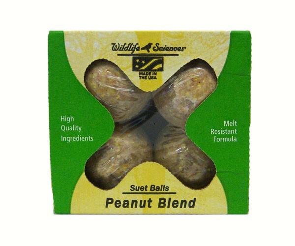 Peanut Blend Suet Balls - 4pk