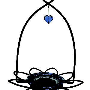 Bluebird Flower Feeder