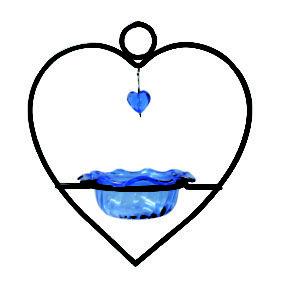 Bluebird Heart Feeder