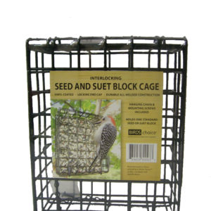 Large Block Seed & Suet Cage