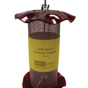 1 qt Nyjer Forever Feeder - red