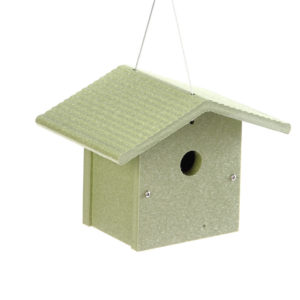 Recycled Wren House Kit - green- Green Solutions