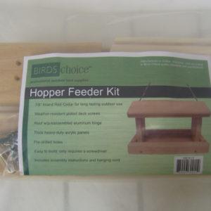 Cedar Hopper Feeder Kit