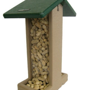 Recycled Whole Peanut Jay Feeder