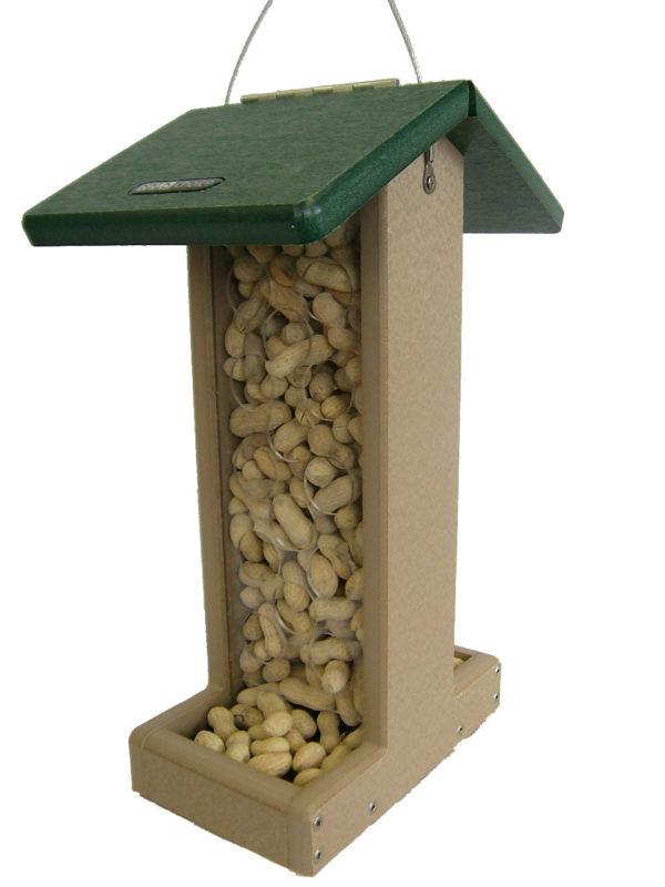 Recycled Whole Peanut Jay Feeder