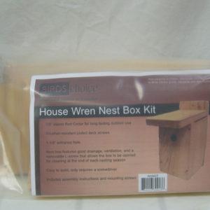 Cedar Wren House Kit